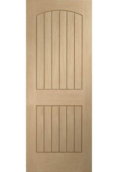Internal Door Oak Sussex Untreated