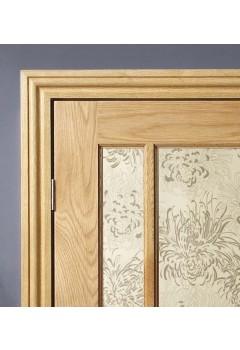 Internal Oak Veneered Architrave Set Prefinished Ogee Profile