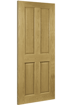 Internal Fire Door Oak Bury Prefinished