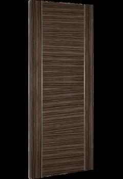 Internal Door Abachi Wood Calgary Prefinished angled