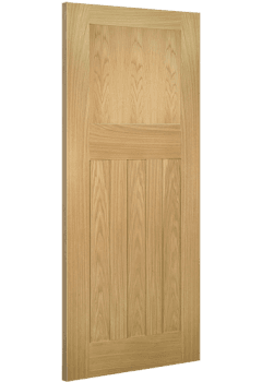 Internal Fire Door Oak Cambridge 1930 4 Panel Untreated SPECIAL OFFER!