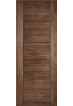Internal Door Walnut Laminate Vancouver Prefinished