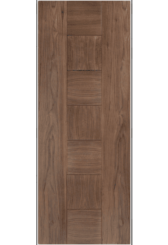 Internal Door Walnut Catalonia Pre Finished  - 18mm solid lippings Promo while stocks last