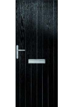 External Pre Hung Suffolk Composite Door Set
