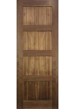 Internal Door Walnut Coventry Prefinished
