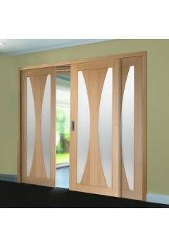 Internal Oak Easi Slide System FRAME ONLY