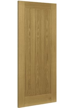 Internal Fire Door Oak Ely Untreated