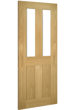 Internal Door Oak Eton Glazed Unfinished SPECIAL OFFER!!
