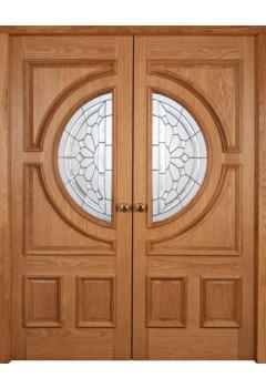 External Door Oak Empress RM1S (shown left and right hand doors fitted as pair)