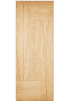 External Door Part L Compliant Oak Fernando Untreated