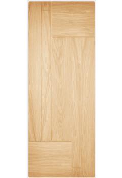 External Door Part L Compliant Oak Fernando Untreated