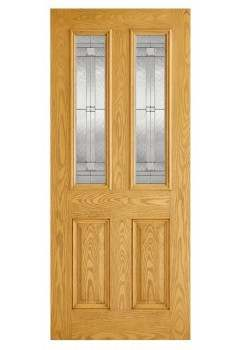 External Door Composite GRP Malton  Lead Double Glazed Prefinished - Suitable for trimming 60mm (Door Only)