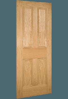 Internal Door Oak Kingston Unfinished SPECIAL OFFER