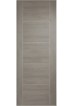 Internal Door Light Grey Laminate Vancouver Prefinished