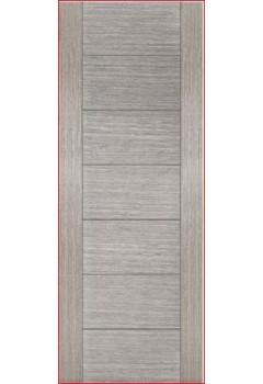 Internal Door Light Grey Stained Veneer Corsica Semi Solid Core Prefinished