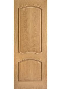 Internal Door Oak Louis with Raised Moulding Untreated LPD
