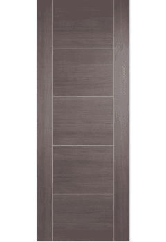 Internal Door Medium Grey Laminate Vancouver Prefinished