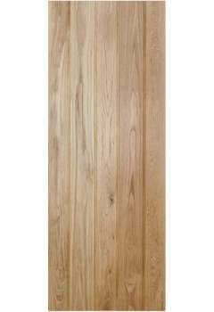 Internal Door Solid Oak Button Bead Ledged Untreated LPD