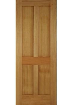 Internal Door Oak Bristol 4 Panel Untreated