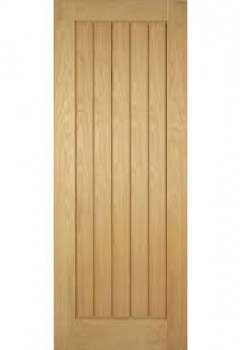 Internal Door Oak Ely Untreated - CLEARANCE - 33""