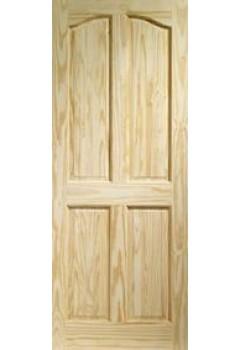 XL Internal Door Clear Pine Rio 4 Panel