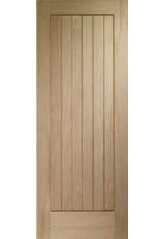 External Door Oak Norfolk Dowelled