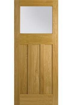 Internal Door Oak Nostalgia DX30's with Frosted glass LPD