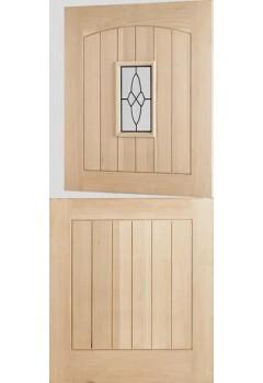 External Door Oak Cottage Stable 1 Light