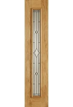External Universal Oak Side Light Lead Caming