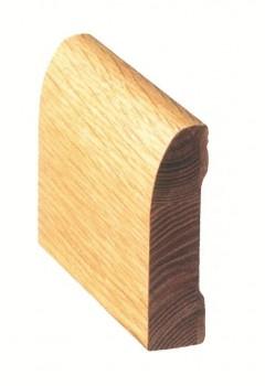 Internal Oak Veneer Skirting Modern Profile