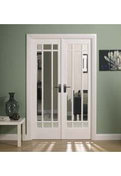 Internal Room Divider White Primed W4 Manhattan