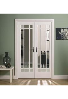 Internal Room Divider White Primed W4 Manhattan