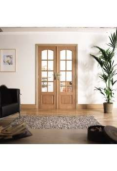 Internal Room Divider Hardwood W4
