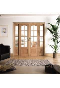 Internal Room Divider Hardwood W6