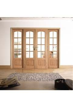 Internal Room Divider Hardwood W8
