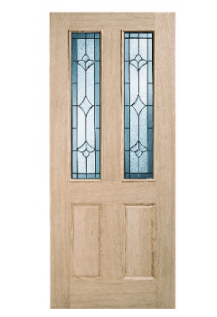 External Part L 44mm Unfinished Oak Salisbury Door