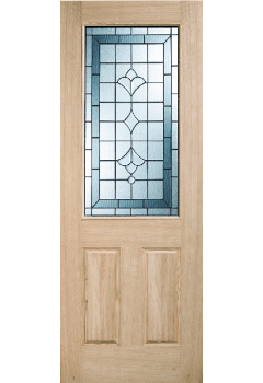 External Part L 44mm Unfinished Oak Winchester Door