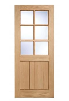 External Door Oak Cottage 6 Light
