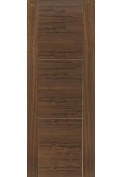 Internal Door Walnut Mistral Prefinished Semi Solid Core