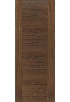 Internal Fire Door Walnut Mistral Prefinished