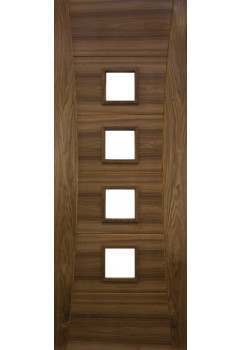 Internal Fire Door Walnut Pamplona unglazed Prefinished