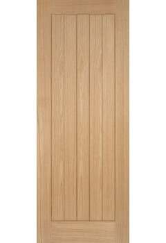 Internal Fire Door Oak Somerset Prefinished LPD SPECIAL OFFER - DARK GROOVES