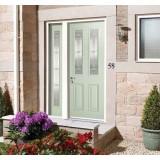 External GRP Malton Green with Elegant Glass