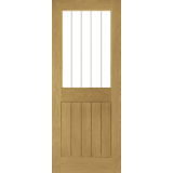 Ely Half Light Door Clear Inlaid Glass