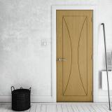 Sorrento Oak Fire Door