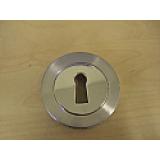 Escutcheon Standard Key Round Rose (single item)