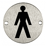Internal Door Symbol Male