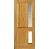 External Oak Faced Thermal L Loire Door
