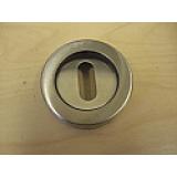 Escutcheon Euro Key STAINLESS STEEL (sold as single item)
