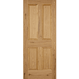 Internal Door Oak Nostalgia 4 Panel Fire Door